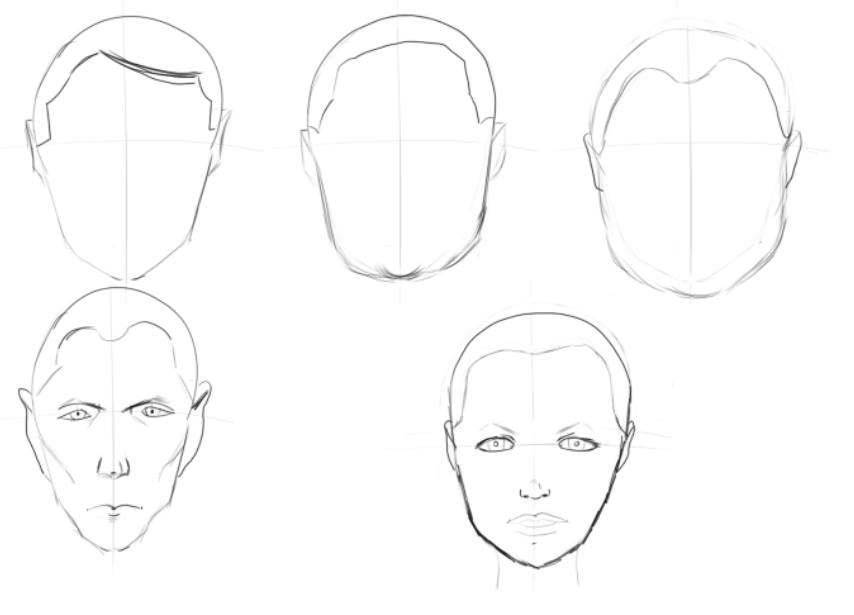 more face studies